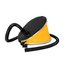 Bravo 6ltr Footpump - Yellow