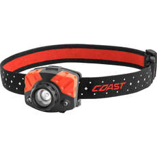 Coast FL75 Focussing Dual Colour Red/White Light Headtorch