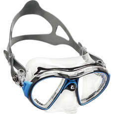 Cressi Air Crystal Diving / Snorkelling Mask - Black/Blue
