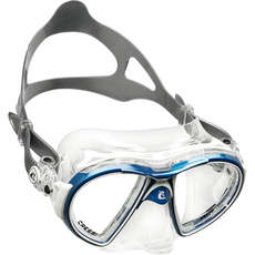Cressi Air Crystal Diving / Snorkelling Mask - Blue/White