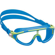 Cressi Baloo Childs Swimming Goggles - Blue/Lime - Age 2-7