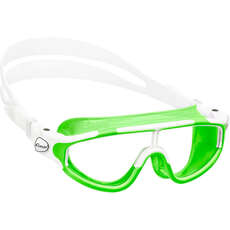 Cressi Baloo Childs Swimming Goggles - Green/White - Age 2-7