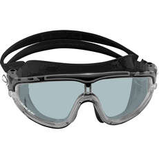 Cressi Skylight Swimming Goggles - Clear/Black Mirror