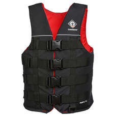 2020 Crewsaver Four B 70N Ski Vest - Black/Red - 2975