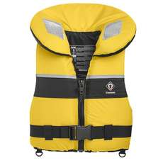 Crewsaver Spiral Large Child / Junior 100N Lifejacket - Yellow/Navy