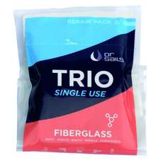 Dr Sails Trio - Kit De Fibre De Verre - Usage Unique