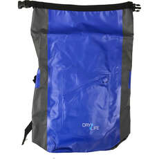 Dry Life 24L Sport Backpack Dry Bag - Blue