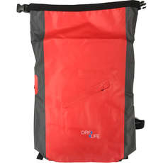 Dry Life 24L Sport Backpack Dry Bag - Red