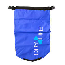 Dry Life 15L Dry Bag & Shoulder Strap - Blu