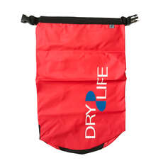 Dry Life 15L Dry Bag & Shoulder Strap - Rojo