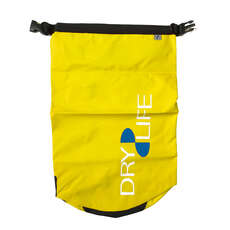 Dry Life 15L Dry Bag & Shoulder Strap - Giallo