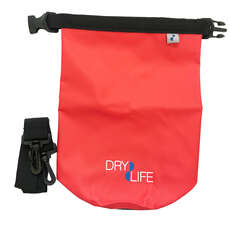 Dry Dry 2.5L Dry Bag & Shoulder Strap - Rosso
