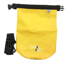 Dry Dry 2.5L Dry Bag & Shoulder Strap - Giallo