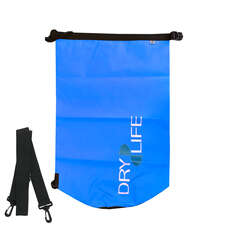 Dry Life 30L Dry Bag & Shoulder Strap - Azul