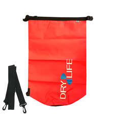 Dry Life 30L Dry Bag & Shoulder Strap - Rojo