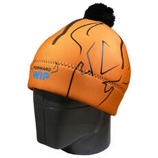 Forward Sailing Neoprene Beanie - Orange/Black