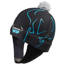 Forward Sailing Neoprene Beanie - Black/Blue