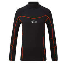 Gill Junior Hydrophobe Long Sleeve Top - Black