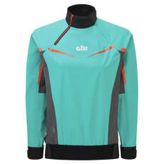 Gill Womens Pro Spray Top - Turquoise