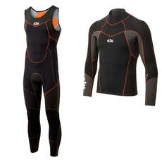 Gill Zentherm Sailing Wetsuit Kit - Black