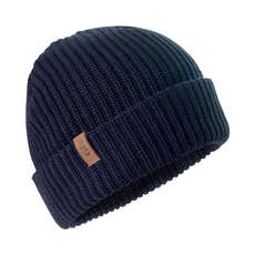Gill Floating Knit Beanie - Navy