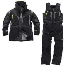 Gill OS12 Jacket & Trouser Sailing Kit Combo  - Graphite