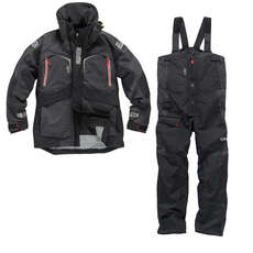 Gill OS23 Jacket & Trouser Sailing Kit Combo  - Graphite/Graphite