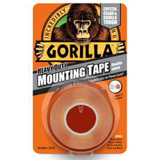Gorilla Heavy Duty Double Sided Tape - 25.4mm x 1.52m - Clear