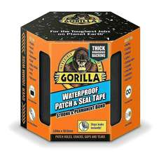 Gorilla Waterproof Patch and Seal - Black - 100m x 3m