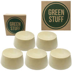 Green Stuff Eco Surfboard Wax [Pack De 5]