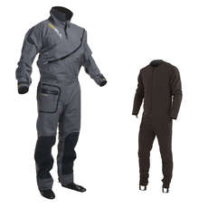 Gul SHADOW Halo Zip Drysuit 2017 - FREE UNDERSUIT