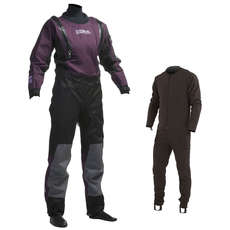 Gul Womens CODE ZERO Stretch U-Zip Drysuit 2017 - FREE UNDERSUIT