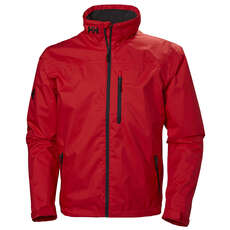 Helly Hansen Crew Mid Layer Jacket 2019 - Red