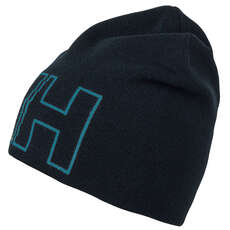 Helly Hansen Kids Outline Beanie  - Navy