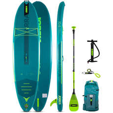 Jobe Yarra 10.6 Aero Inflatable Paddle Board SUP Package  - Teal