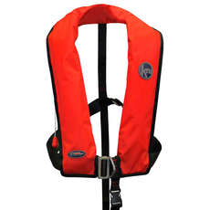 Kru Junior XF ISO 170N Life Jacket - Auto Harness - Red