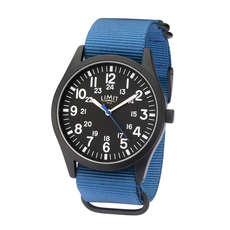 Limit Mens Military Style Analogue Watch - Blue