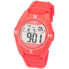Orologio Digitale Limite Junior / Ladies Countdown - Rosso Corallo