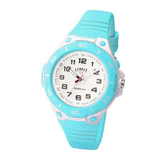 Montre Analogique Sport Limit Junior / Femme - Blanc / Aqua