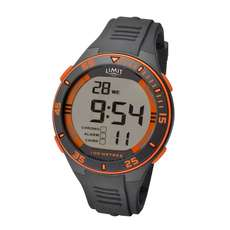 Limit Mens Digital Water Sports Watch - Grey Orange