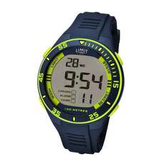 Limit Mens Digital Water Sports Watch - Navy Lime