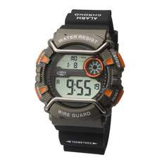 Limit Wireguard Mens Digital Water Sports Watch - Grey Orange