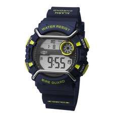 Limit Wireguard Mens Digital Water Sports Watch - Navy Lime