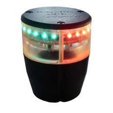 Mantagua Masthead LED Navigation Light - Tricolour with Anchor