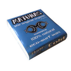 Matunas Cold Water Surfboard Wax - 15 Deg C and Below