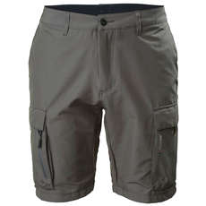 2020 Musto Evolution Deck UV Fast Dry Shorts - Charcoal - EMST025-965