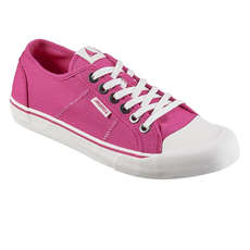 Musto 064 Lo Canvas Shoes - Hot Pink