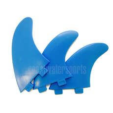 Eurofins Fcs Compatible Tabla De Surf Fin Set - Blue [Juego De 3 Aletas]