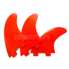 Eurofins Fcs Compatibile Surfboard Fin Set - Red [Set 3 Alette]