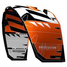Rrd Obsession Mk10 Kite 2018 - Orange / Grau - Freestyle / Wakestyle